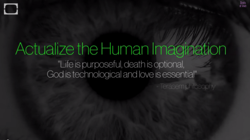 actualize human imagination