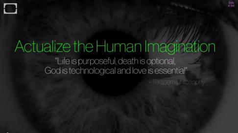 actualize human imagination